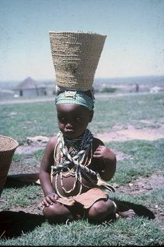Africa | Leqani, a 18 month old Xhosa child. Transkei, South Africa. ca. 1960 | ©Lister Haig Hunter