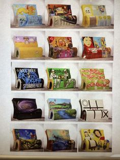 London book benches