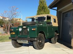 1967 Land Rover with new Parabolic springs