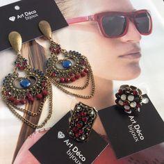 Sábado aqui em Floripa abriu o sol! Vamos aproveitar o finde usando peças da tendência marsala? ️www.artdecobijoux.com.br #sabado #artdecobijoux #trend #tendencia #marsala #bijouxmarsala