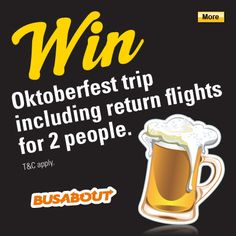 Win A Trip, Munich, Company Logo, How To Apply, Apps, Facebook, People, Oktoberfest, App