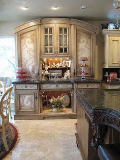 Absolutely gorgeous kitchen nook!