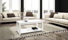 Mueble de comedor de Lapausa y Mora, colección Lore. Camposición 09 con acabado enCerezo 50 ó Blanco 53.