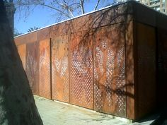 acero corten perforado - Google Search