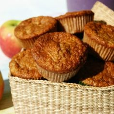 Apple snack muffins by myfoodpassion