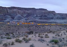 Amangiri Resort, 2009 - Utah, Adrian Zecha-inspired design in collaboration with architects Rick Joy, Marwan Al-Sayed and Wendell Burnette  Design with Nature