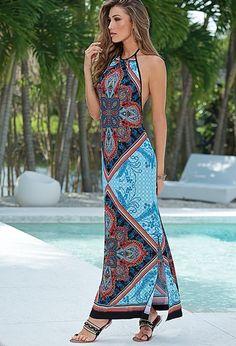 vestidos de playa, estampados última tendencia