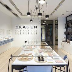 Danish flair for Skagen's Paris watch store - Retail Design World