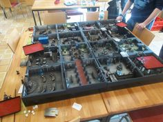 The Governor's Palace Gaming Board for Warhammer 40k and Zone Mortalis