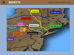 Major Natural Gas Pipelines in the Northeast for Marcellus Shale Gas