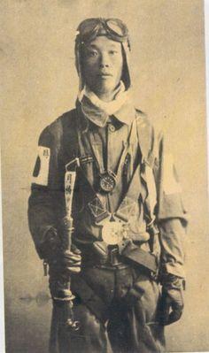 Piloto kamikase, II Guerra .