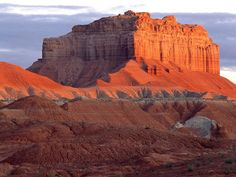 Wild Horse Butte at Sunrise Goblin Valley State Park Utah picture, Wild Horse Butte at Sunrise Goblin Valley State Park Utah photo, Wild Horse Butte at Sunrise Goblin Valley State Park Utah wallpaper State Parks, Lake Powell Utah, National Geographic Wallpaper, Goblin Valley, Waterfall Wallpaper, Destinations, Bay Lake, Top Pic, Some Beautiful Pictures