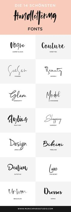 14 Beautiful Hand-Lettered Fonts for Logo & Branding Branding is not only about . 14 Beautiful Hand-Lettered Fonts for Logo & Branding Branding is not only about logos and typography but Inspiration Typographie, Inspiration Logo Design, Design Ideas, Design Layouts, Business Inspiration, Layout Inspiration, Creative Inspiration, Logo Branding, Business Branding