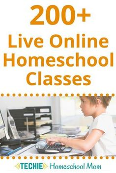Check out over 200 live online homeschool classes at Outschool, a great option for eclectic techie homeschoolers.