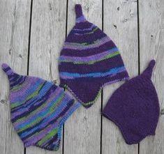 Så er det igen tid til de varme huer til store og små! Derfor bringer vi endnu en gang opskriften på disse søde modeller - designet... Free Crochet Doily Patterns, Crochet Patterns Amigurumi, Baby Knitting Patterns, Crochet Doilies, Free Pattern, Crochet Baby, Crochet Toys, Crochet Bikini, Knit Crochet