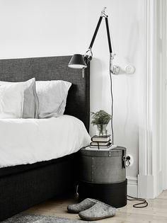 Lámparas para mesilla de noche aplique pared