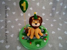 La buona cucina di Katty: Top cake lion first birthday
