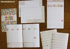 free planner and calendar + more {2015} - the handmade home