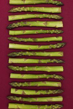Tasty Art — Asparagus by Rob White on canvas, 50cm x 60cm, £160