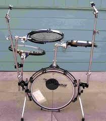 traps drums a400 n c 5 piece portable rack mounted drum set by traps drums the traps a. Black Bedroom Furniture Sets. Home Design Ideas