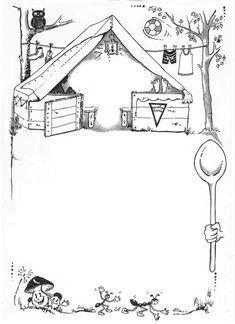 Diplom - letní tábor Kindergarten, Diagram, Clip Art, Camping, Teaching, Deco, Random, Illustration, Image