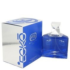 Ecko Blue by Marc Ecko Eau De Toilette Spray 3.4 oz. This fragrance was released in 2011 and is long lasting fresh and clean. Both smooth and exciting, you will certainly be enticed to wear this fragrance again and again.e It has top notes of plum, black currant and citruses.e The middle notes are geranium, green notes, lavender, juniper berry, herbseandeaquatic notes.e And the bottom notes are oakmoss,emusk and sandalwood.e