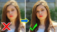 Low to High Quality/Resolution Photo/Image in adobe Photoshop