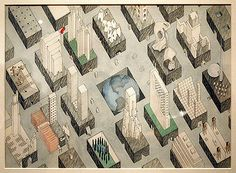 Rem Koolhaas. The City of The Captive Globe, New York, 1972