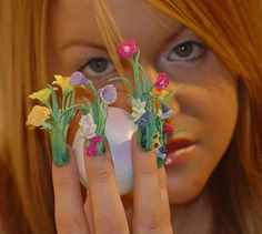 images of 3D nail art | ... : 3D/Kawaii Nail Art: The Latest in Ridiculous Nail Trends