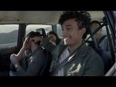 """road tripping, lens flaring, desaturated TV spot for Doritos (?) Taco Bell: """"Sometimes you gotta live mas"""" (:31)"""