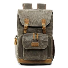 Stylish Camera Backpack for Photographers Unisex Camera Backpack Canvas DSLR//SLR Photography Shoulder Bag Cover Outdoor Fashion Casual Business Rucksack Travel Daypack Trendy Fashion Anti-Theft DSLR