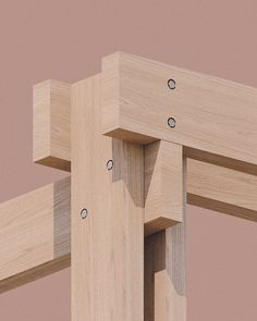 o'donnellbrown develops prototype for outdoor community classroom in glasgow Contemporary Architecture, Architecture Details, Wood Projects, Woodworking Projects, Timber Structure, Wood Joints, Post And Beam, Wood Detail, Glasgow