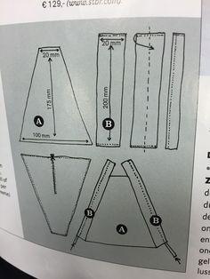 Tipi maken 2 patroon