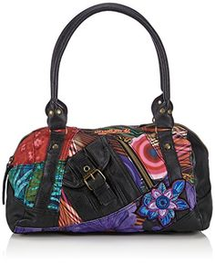 Women's Cross-Body Handbags - Desigual Tokyo Diverdelik Cross Body Bag Red One Size *** Want additional info? Click on the image.