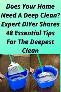 Does Your Home Need A Deep Clean? Expert DIYer Shares 48 Essential Tips For The Deepest Clean Diy Crafts For Girls, Diy Crafts For Home Decor, Diy Arts And Crafts, 1000 Life Hacks, Useful Life Hacks, Diy Pallet Projects, Cool Diy Projects, Deep Cleaning, Cleaning Hacks