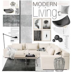 """Living Room"" by bellamarie on Polyvore"