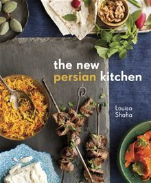 The New Persian Kitchen - This luscious and contemporary take on the alluring cuisine of Iran from cookbook author Louisa Shafia features 75 recipes for both traditional Persian dishes and modern reinterpretations using Middle Iranian Cuisine, Iranian Food, Cookery Books, New Cookbooks, Asian Cookbooks, Middle Eastern Recipes, The Help, Food And Drink, Dishes