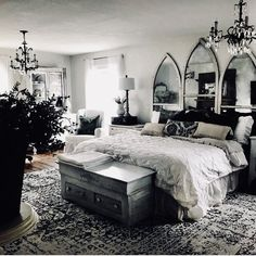 Image in home collection by Daiana ♔ on We Heart It Room Ideas Bedroom, Home Bedroom, Diy Bedroom Decor, Goth Home Decor, Small Room Decor, Aesthetic Bedroom, Dream Decor, Dream Rooms, My New Room