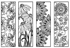Bookmarks to Color.
