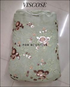 Tone to tone Thread n Sequence work embroidery on Viscose Fabric. 35755215 Fabric - Viscose DM for inquiry or order. WhatsApp no +91-8511248636.  Follow @forboutique30 for more designer collections.  #Forboutique #punjabiculture #delhishopping #banglore #banglorefashionweek #chennaifashion #chandigarh #amritsar #smallbusiness #smallboutique #smallbouquet #fabricstore #designerfabric #fashionblogger_de #weddingfashion #ethnicattire #onlinefabricstore #onlineboutique #onlineshopping Delhi Shopping, Punjabi Culture, Small Bouquet, Amritsar, Viscose Fabric, Chandigarh, Designer Collection, Online Boutiques, Fabric Design