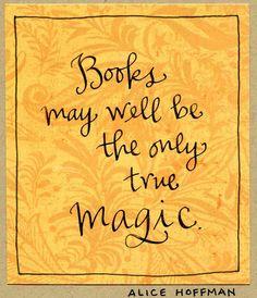 Books = Magic