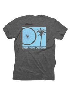 Amgen Tour of California Wheel & Tree T-Shirt