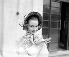 Rare Audrey Hepburn — Audrey Hepburn photographed at Ealing Studios,...