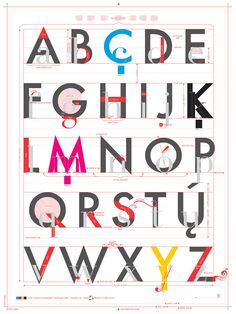 Pop Chart Lab — Alphabet of Typography    This is AWESOME! I sooooo want one!