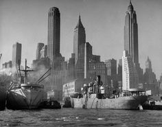 Vintage Photos of Downtown New York