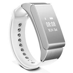 Longess Smart Bracelet & Bluetooth Headset Pedometer Smart Watch Wristband Sleep Monitor (Sliver)