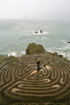 Land's End Labyrinth – San Francisco; Nice...walking with sea sight and salty air!