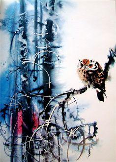 Чешский художник Мирко Ханак(Mirko Hanak)   Чешский художник картины искусство   art иллюстрации животные живопись автор