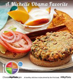 Bean-Kale Burgers with Sweet Potato Wedges Recipe : Food Network Kitchen : Food Network Potato Wedges Recipe, Sweet Potato Wedges, Vegetarian Recipes, Cooking Recipes, Healthy Recipes, Healthy Meals, Burger Recipes, Vegetarian Protein, Veggie Meals