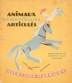 12 pages de découpages et montages pour recréer tout un ensemble d'animaux... encore un joli travail de Pilllpat...